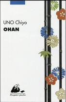 Couverture du livre « Ohan » de Chiyo Uno aux éditions Picquier