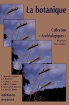 Couverture du livre « Botanique (la) » de Alain Ferdiere aux éditions Errance