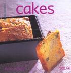 Couverture du livre « Cakes » de Martine Lizambard aux éditions Solar