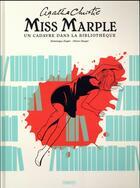 Couverture du livre « Miss Marple ; un cadavre dans la bibliothèque » de Dominique Ziegler et Olivier Dauger aux éditions Paquet