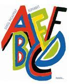 Couverture du livre « Alphabet » de Beatrice Fontanel et Sonia Delaunay aux éditions Palette
