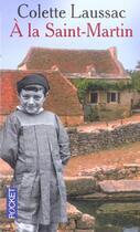 Couverture du livre « À la Saint-Martin » de Colette Laussac aux éditions Pocket