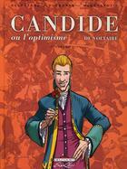Couverture du livre « Candide ou l'optimisme, de Voltaire t.1 » de Voltaire et Michel Dufranne et Gorian Delpature aux éditions Delcourt