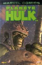 Couverture du livre « Hulk T.3 ; planète Hulk t.1 » de Collectif et Greg Pak aux éditions Panini