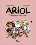 Couverture du livre « Ariol T.15 ; touche pas à mon veau » de Emmanuel Guibert et Marc Boutavant aux éditions Bd Kids