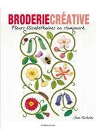 Couverture du livre « Fleurs élisabéthaines en stumpwork » de Jane Nicholas aux éditions De Saxe