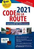 Couverture du livre « Code de la route (édition 2021) » de Collectif aux éditions Toucan