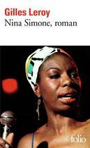 Couverture du livre « Nina Simone » de Gilles Leroy aux éditions Gallimard