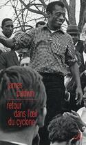 Couverture du livre « Retour dans l'oeil du cyclone ; essais » de James Baldwin aux éditions Christian Bourgois