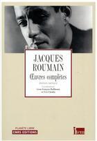 Couverture du livre « Oeuvres complètes » de Jacques Roumain aux éditions Cnrs