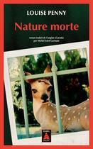 Couverture du livre « Nature morte » de Louise Penny aux éditions Actes Sud