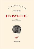 Couverture du livre « Les invisibles » de Roy Jacobsen aux éditions Gallimard