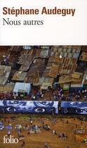 Couverture du livre « Nous autres » de Stephane Audeguy aux éditions Gallimard