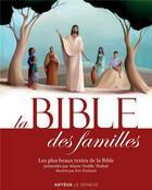 Couverture du livre « La bible des familles » de Marie-Noelle Thabut aux éditions Artege