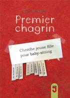 Couverture du livre « Premier chagrin » de Eva Kavian aux éditions Mijade