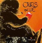 Couverture du livre « Ours qui lit » de Eric Pintus et Martine Bourre aux éditions Didier Jeunesse