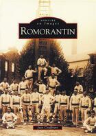 Couverture du livre « Romorantin » de Jean Couffrant aux éditions Editions Sutton