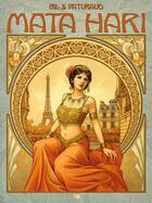 Couverture du livre « Mata Hari » de Laurent Paturaud et Esther Gil aux éditions Daniel Maghen