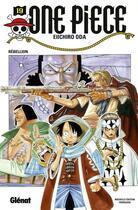 Couverture du livre « One piece t.19 ; rébellion » de Eiichiro Oda aux éditions Glenat