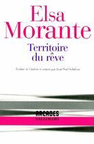 Couverture du livre « Territoire du rêve » de Elsa Morante aux éditions Gallimard