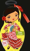 Couverture du livre « Carnet créatif ; Inès en Espagne » de Collectif aux éditions Play Bac