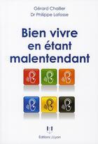 Couverture du livre « Bien vivre en étant malentendant » de Lafosse aux éditions Josette Lyon