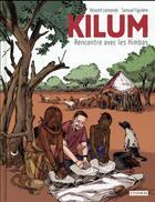 Couverture du livre « Kilum : rencontre avec les Himbas » de Samuel Figuiere et Vincent Lemonde aux éditions Steinkis