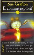 Couverture du livre « E Comme Explosif » de Sue Grafton aux éditions Pocket