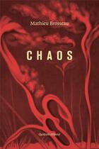 Couverture du livre « Chaos » de Mathieu Brosseau aux éditions Quidam