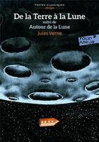 Couverture du livre « De la Terre à la lune ; autour de la lune » de Jules Verne aux éditions Gallimard-jeunesse