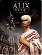 Couverture du livre « Alix senator t.1 ; les aigles de sang » de Martin aux éditions Casterman