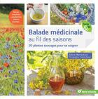 Couverture du livre « Balade médicinale au fil des saisons ; 20 plantes sauvages pour se soigner » de Sylvie Hampikian et Virginie Queant aux éditions Terre Vivante