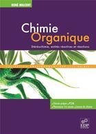 Couverture du livre « Chimie organique » de Rene Milcent aux éditions Edp Sciences