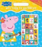 Couverture du livre « Peppa Pig - Mes Jeux De Vacances » de  aux éditions Hachette