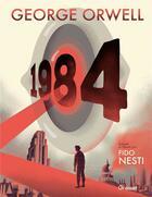 Couverture du livre « 1984 » de George Orwell et Fido Nesti aux éditions Grasset Et Fasquelle
