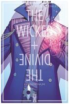 Couverture du livre « The wicked + the divine T.2 ; Fandemonium » de Kieron Gillen et Jamie Mckelvie et Matthew Wilson et Clayton Cowles aux éditions Glenat Comics