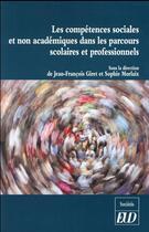 Couverture du livre « Competences sociales et n » de Jean-Francois Giret aux éditions Pu De Dijon