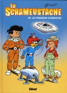 Couverture du livre « Le Scrameustache T.40 ; les passagers clandestins » de Gos et Walt aux éditions Glenat