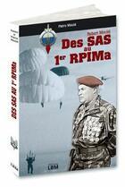 Couverture du livre « Des SAS au 1er RPIMa » de Moulie/Pierre Et Rob aux éditions Lbm