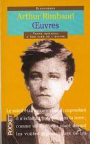 Couverture du livre « Oeuvres Poetiques » de Arthur Rimbaud aux éditions Pocket