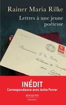 Couverture du livre « Lettres a une jeune poetesse » de Rainer Maria Rilke aux éditions Bouquins