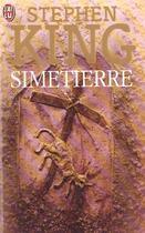 Couverture du livre « Simetierre » de Stephen King aux éditions J'ai Lu