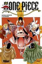 Couverture du livre « One piece t.20 ; bataille décisive à Alubarna » de Eiichiro Oda aux éditions Glenat