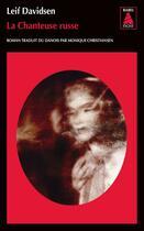 Couverture du livre « La chanteuse russe » de Leif Davidsen aux éditions Actes Sud