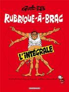 Couverture du livre « Gotlib ; intégrale ; rublique-à-brac » de Marcel Gotlib aux éditions Dargaud