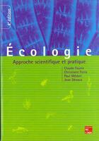 Couverture du livre « Ecologie » de Faurie aux éditions Tec Et Doc