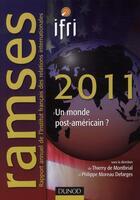 Couverture du livre « Ramsès 2011 » de Philippe Moreau Defarges et Thierry De Montbrial aux éditions Dunod