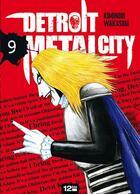 Couverture du livre « Detroit metal city t.9 » de Kiminori Wakasugi aux éditions 12 Bis