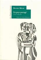 Couverture du livre « En pays partagé » de Ruben Melik aux éditions Le Temps Des Cerises