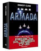 Couverture du livre « Armada » de Ernest Cline aux éditions Hugo Roman